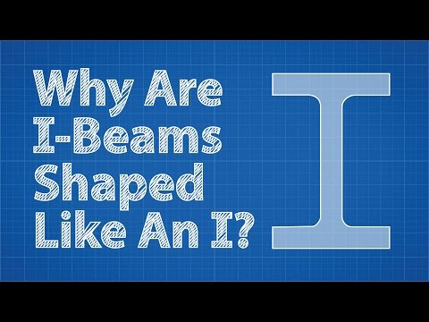 Why Are I-Beams Shaped Like An I?