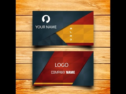 Creative business card design|How to make your own Business card in modern way by using illustrator