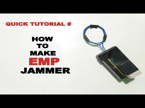 How to make EMP Jammer - Explained