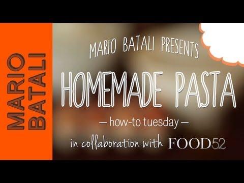 How to Make Homemade Pasta (Egg Pasta Dough)