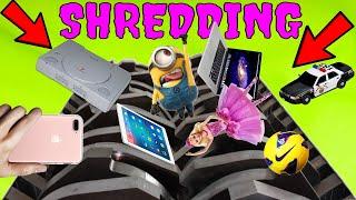 The SHREDDER DESTROYS Everything