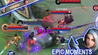 Mobile Legends WTF | EPIC Moments Benedetta and Savage and how to get free diamonds 2021