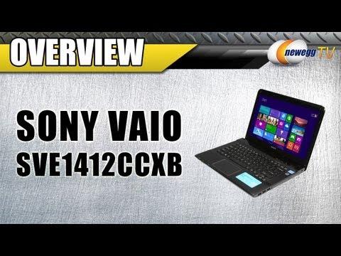 Newegg TV: SONY VAIO SVE1412CCXB Intel Core i5 Notebook Overview