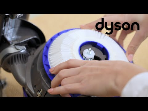 Dyson DC41 and DC41 Mk2 - Washing the filters (UK)