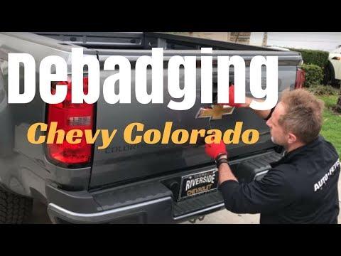 Debadging: Chevy Colorado