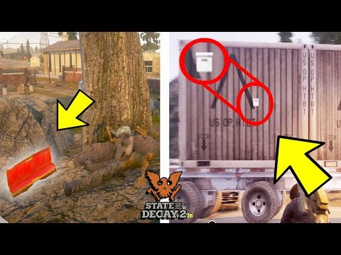 10 Secret Weapon Chests That Have Rare Weapons in State of Decay 2!