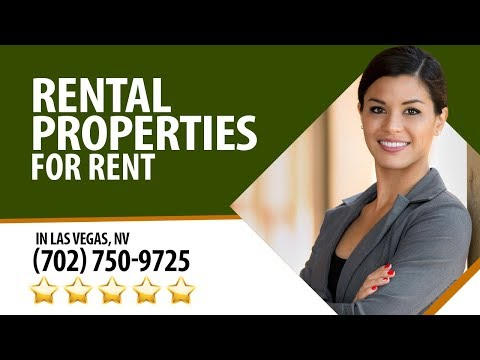 Rental Properties For Rent in Las Vegas NV by Larry V. - (702) 750-9725