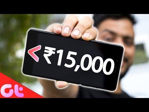TOP 5 BEST PHONES UNDER ₹15000 (2018)