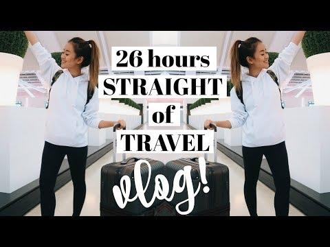 26 HRS OF TRAVEL + PLANE ESSENTIALS | Asia Vlog #1