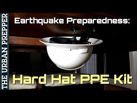 Hard Hat PPE Kit | Earthquake Preparedness