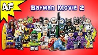 Lego Batman Movie Series 2 Collectible Minifigures Review 71020