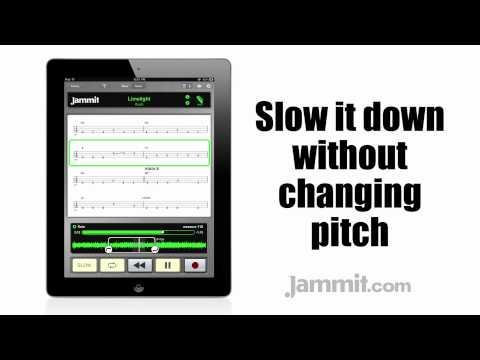 Jammit ipad iphone app Rush Video Limelight