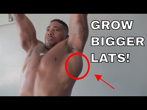 LAT WORKOUT - How to Build Bigger Lats with Pull Ups!