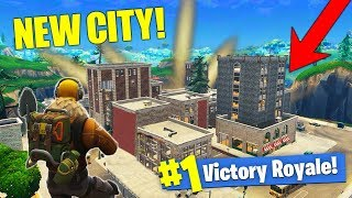 *NEW* CITY MAP GAMEPLAY! Massive Fortnite Update!