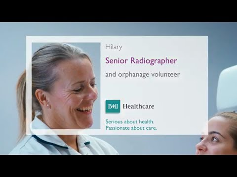 How radiographers make a difference at BMI Healthcare
