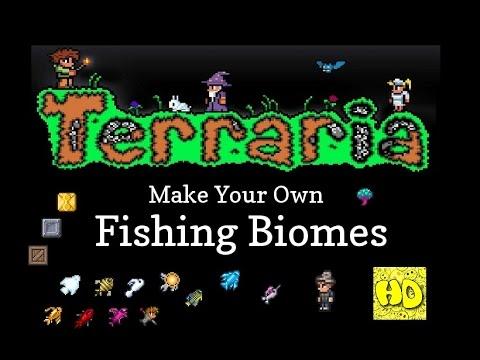 Terraria How to Make Biome Fishing Farms