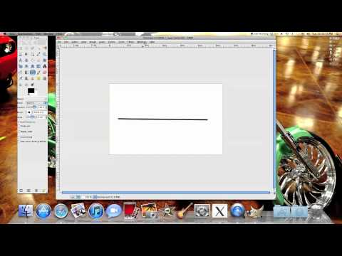 How to use a path tool in GIMP