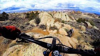 She's got the lines I need to see me through | Mountain Biking Hartman Rocks