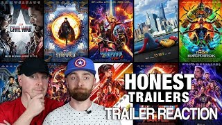 Download Honest Trailers MCU Reaction and Thoughts Video