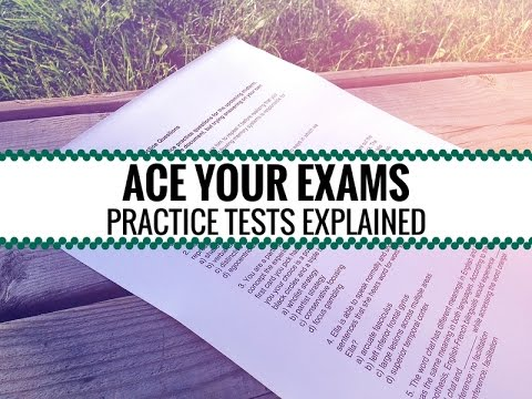 How to Make a Practice Test // Ace Your Exams