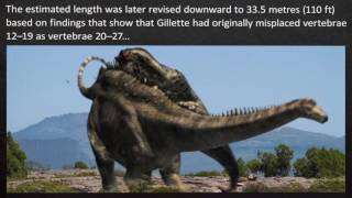 Download TOP 10 Largest DINOSAURS EVER Video