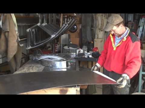 Mitchell Dillman - How to make sheet metal art