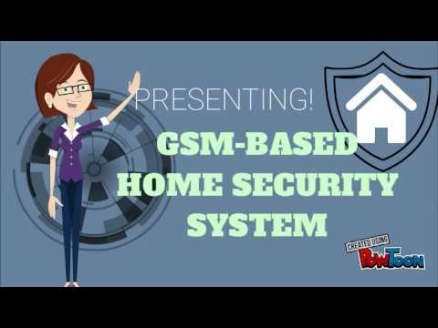 GSM-BASED Home Security System