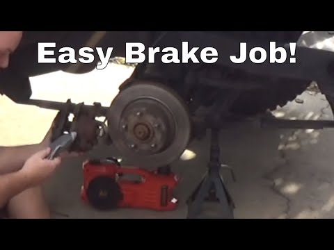 How To Jeep Wrangler Front Disc Brakes
