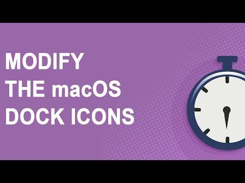 Modify the macOS Dock Icons