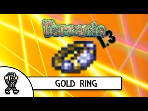 Terraria 1.3 - GOLD RING  - EXTENDED COIN RANGE