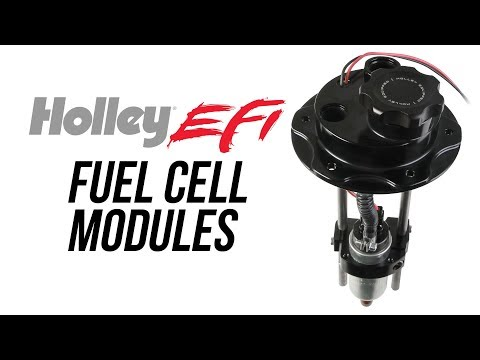 Holley EFI Fuel Cell Pump Modules