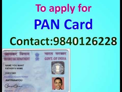 PAN card CHENNAI ANNA NAGAR