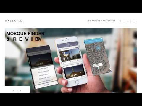 Halla Mosque Finder App