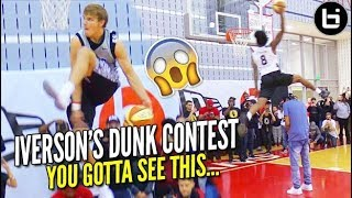 Mac McClung EASTBAY in IVERSON Jersey in Front of the LEGEND but Kevin Porter STEALS THE SHOW!!!