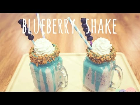 Blueberry Shake - CAKE QUIRK