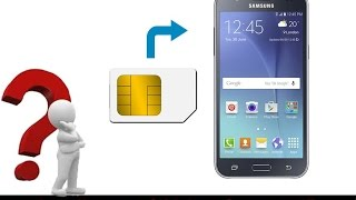 Samsung Galaxy J5 Duos How To Insert Sim Card And Micro Sd