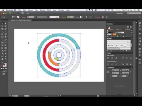 How To Make a Donut Chart in Adobe Illustrator