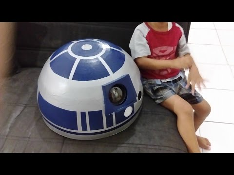 How to Build Working R2D2 with Foam Board