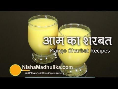 Fresh Mango Juice -  Mango Shorbet