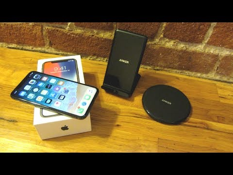 iPhone X - Anker Wireless Qi Charger Demo