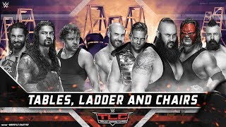 WWE TLC 2017 Highlights Results Prediction WWE TLC 22 October 2017 Tables Ladders Chairs The Shield