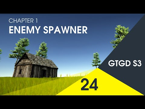[24] Enemy Spawner - How To Make A Game