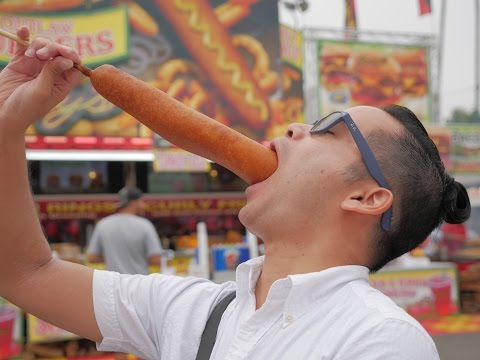 Fun, food, and carnival games at the San Diego County Fair! - Crane Couple Adventures