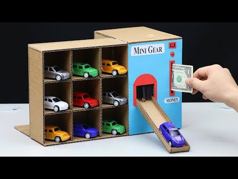 Wow! Amazing DIY Vending Machine with SUV Toy Cars