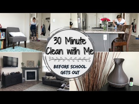 30 MINUTE CLEAN WITH ME :: CLEANING MOTIVATION :: SAHM CLEANING ROUTINE