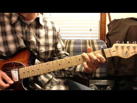 how to play strawberry wine guitar lesson intro & chords