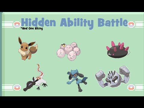 Hidden Ability Battle