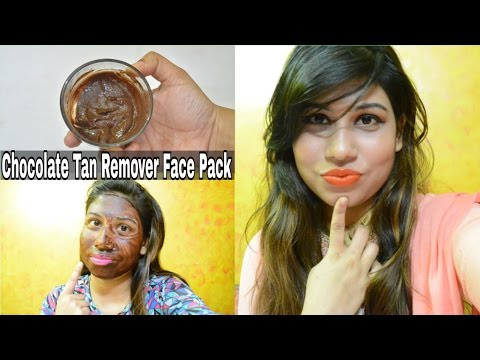 Chocolate Tan Remover Face Pack | Homemade Chocolate Face Masks For All Skin Type | Remove Sun Tan