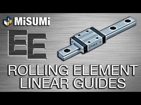 Rolling Element Linear Guides | Engineer to Engineer | MISUMI USA
