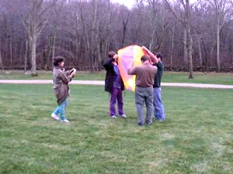 tissue paper hot air ballon